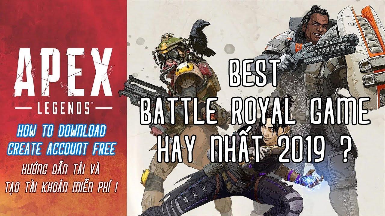 Hướng Dẫn Cài Đặt Và Đăng Kí Tài Khoản APEX LEGENDS – Game Battle Royal Đỉnh Cao Miễn Phí !