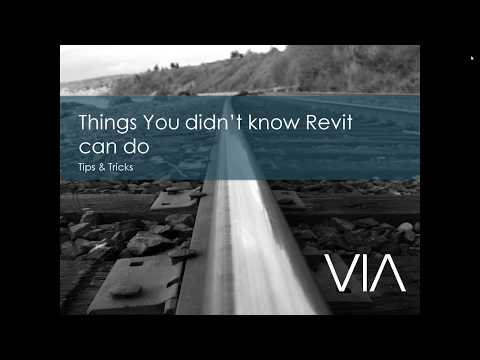 Focus Group  - Things you didn't not know Revit can do