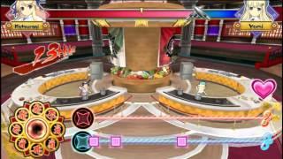 Senran Kagura: Bon Appetit Vita Gameplay