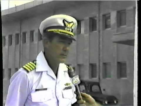 Guam Cable TV news report by Clay Feeter , 1980