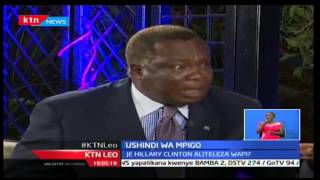 KTN Leo: Katibu Mkuu wa COTU Francis Atwoli aonyesha usimamo wake kwa Rais Donald Trump, 9/11/16