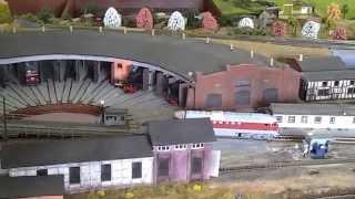 Bahnbetriebswerk Arnstadt Ostern 2015
