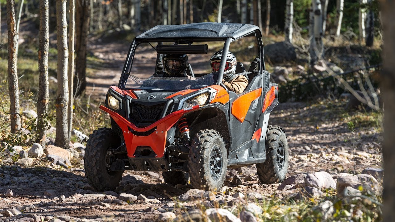 2018 Can-Am Maverick Trail Review- ATVESCAPE