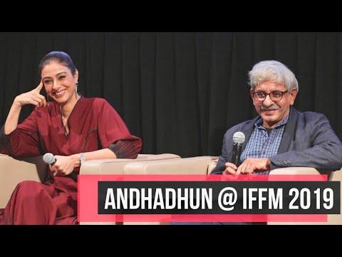 Andhadhun At IFFM 2019 I Rajeev Masand
