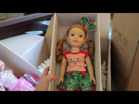 AMERICAN GIRL WELLIE WISHERS HAUL!! ♥ Beingmommywithstyle