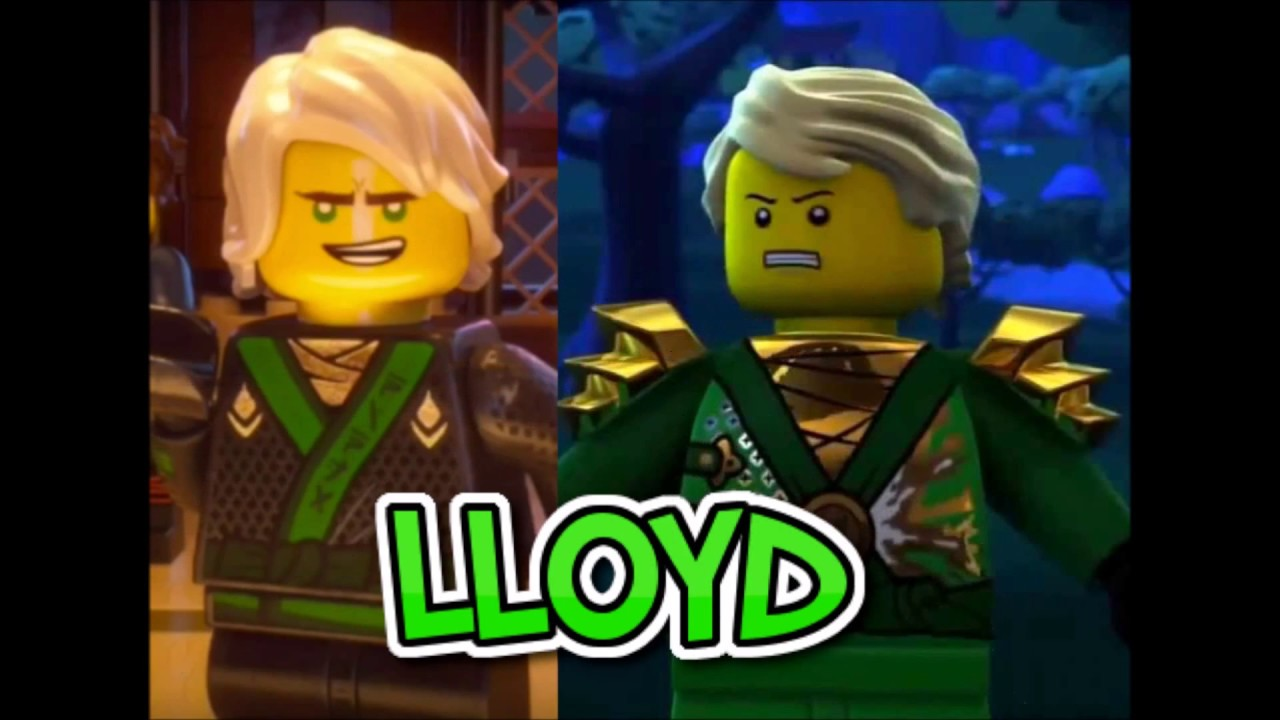 Lego ninjago movie characters vs ninjago tv show characters comparison youtube - Ninjago vs ninjago ...