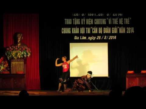 Múa hứng dừa -Chào mừng ngày 26/3 - Trường THPT Cao Bá Quát