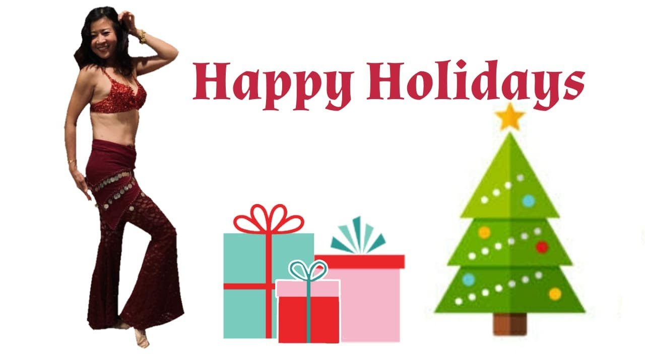 Happy Holidays 2020 Dance from NS Bellydance Workouts Students