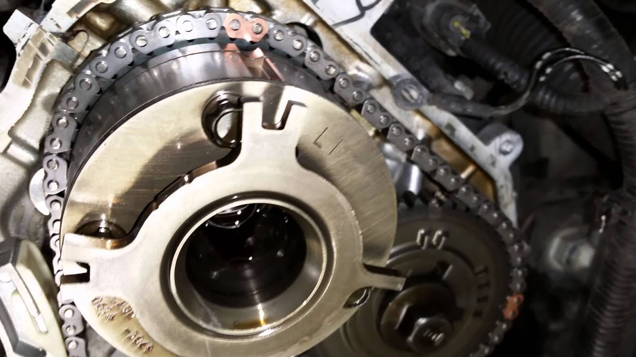 2011 Infiniti Qx56 Timing Chain Alignment Marks Youtube