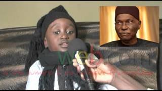Serigne Fallou (3ans) petit fils de Cheikh Ibra Fall predit la chute de Macky