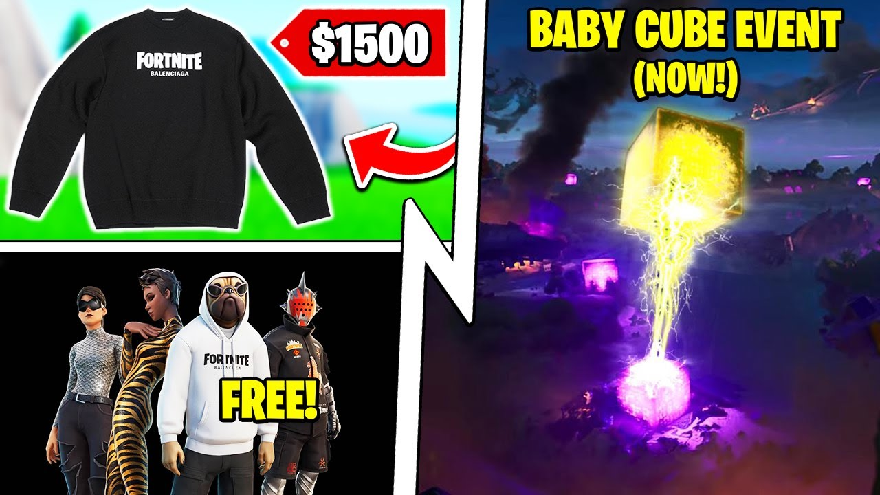 The *NEW* Collab Event is Controversial, Free Rewards, Fortnite Baby Cube!