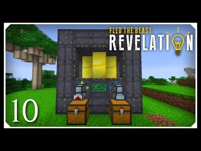 How To Play FTB Revelation   Small Extreme Reactor!   E10