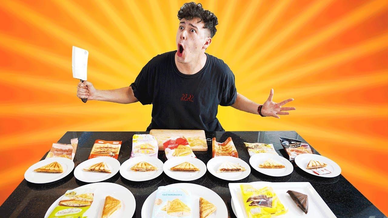 MEINE TOP 10 SANDWICHES aus THAILAND! ????????