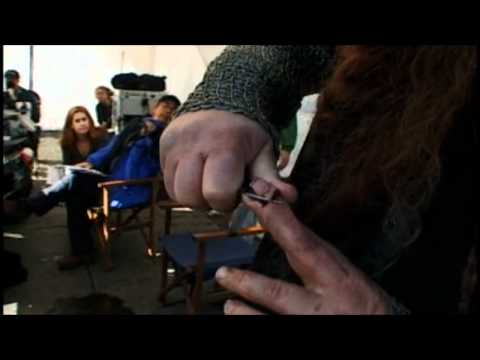 Behind the s of Lord of the Rings Gimli's Prank