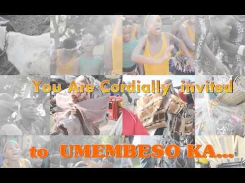 Umembeso invitation youtube umembeso invitation stopboris Image collections