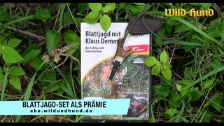 Tausendfach bewährt: Demmel Kombi-Blatter inkl. DVD - jetzt als WILD UND HUND Prämie!