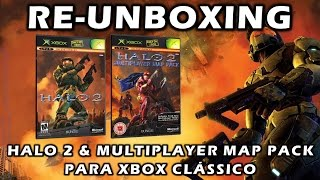 Re-Unboxing: Halo 2 & Multiplayer Map Pack (Jogo Xbox Clássico)