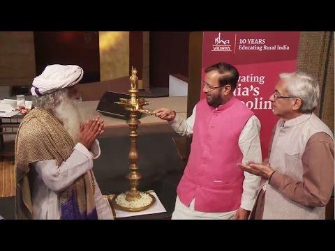 Union HRD Minister Shri Prakash Javadekar Inaugurates Isha Vidhya Education Conference