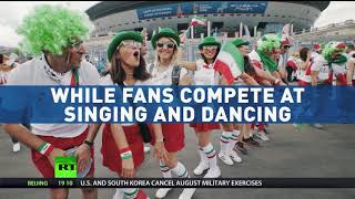 Fan Fever: Russia turns festive as World Cup gets into full swing