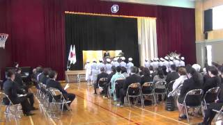 小樽市立高等看護学院で卒業式