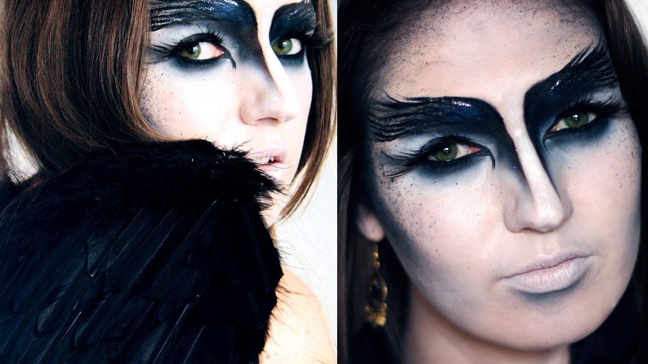 Black Bird Face Paint