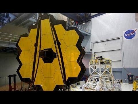 James Webb, le plus grand téléscope de la planète
