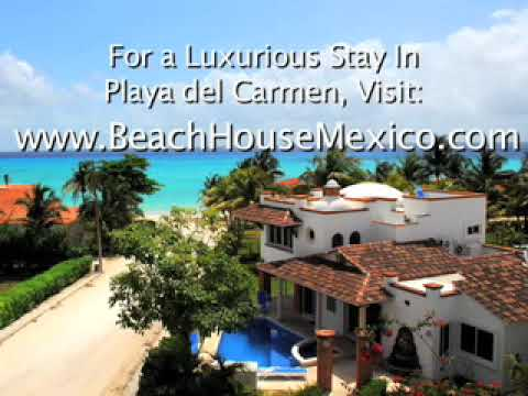 Playa Del Carmen Beach House (with additional photos of the city)