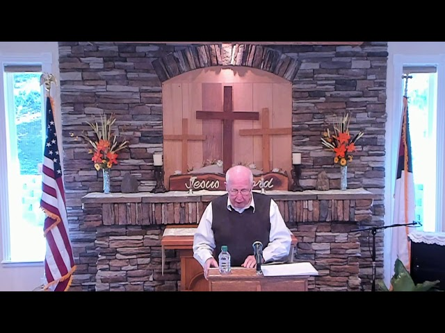 Sunday Service - Nov 03, 2019 - Titus 1: 1-4 Living the Godly Life