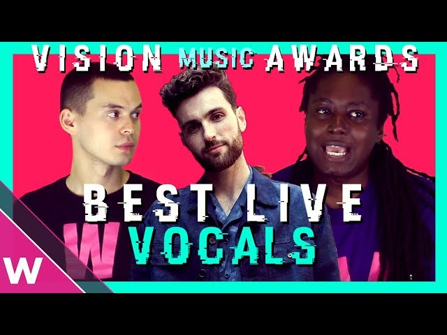 The Netherlands' Duncan Laurence wins Best Live Vocals of Eurovision 2019 | VMAs