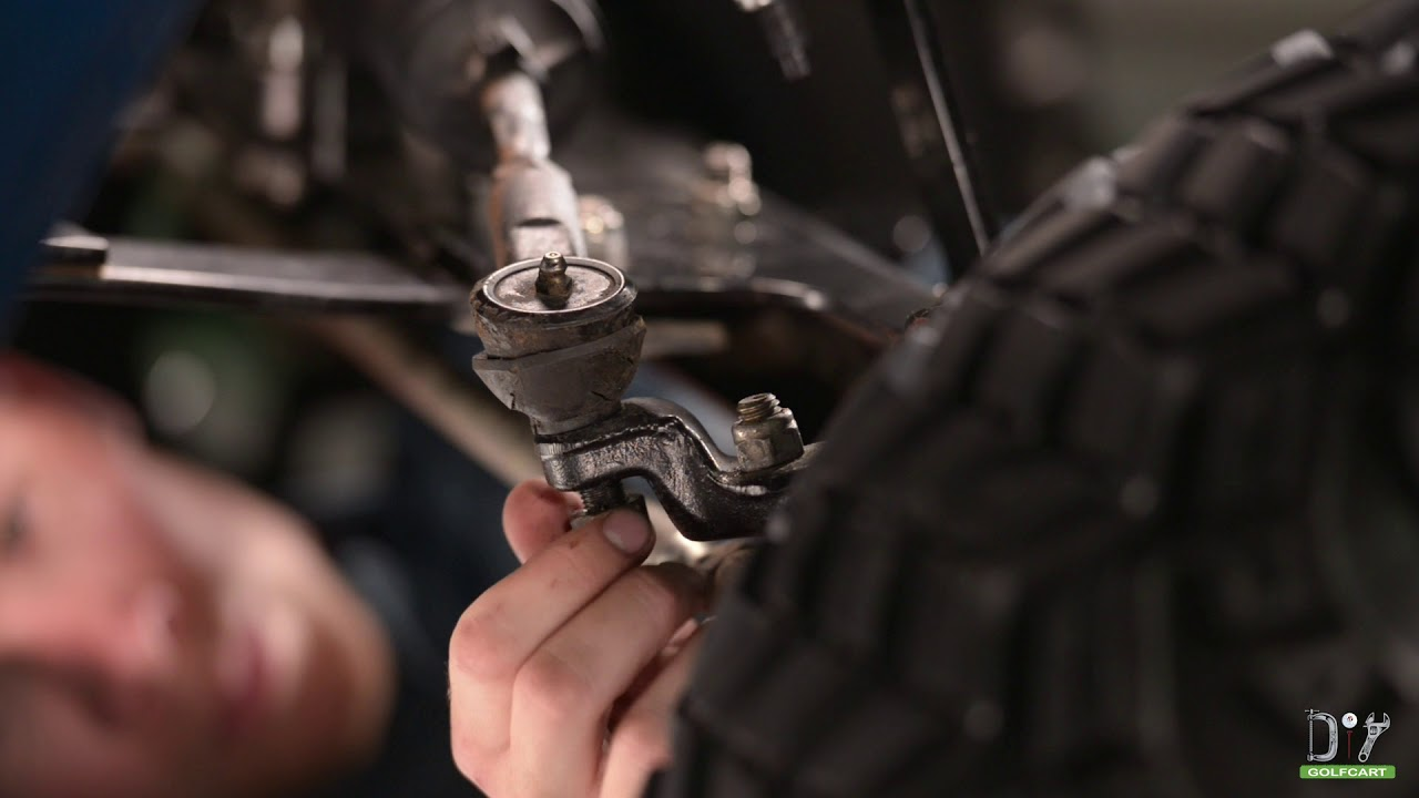 small resolution of ezgo txt steering box assembly installation how to