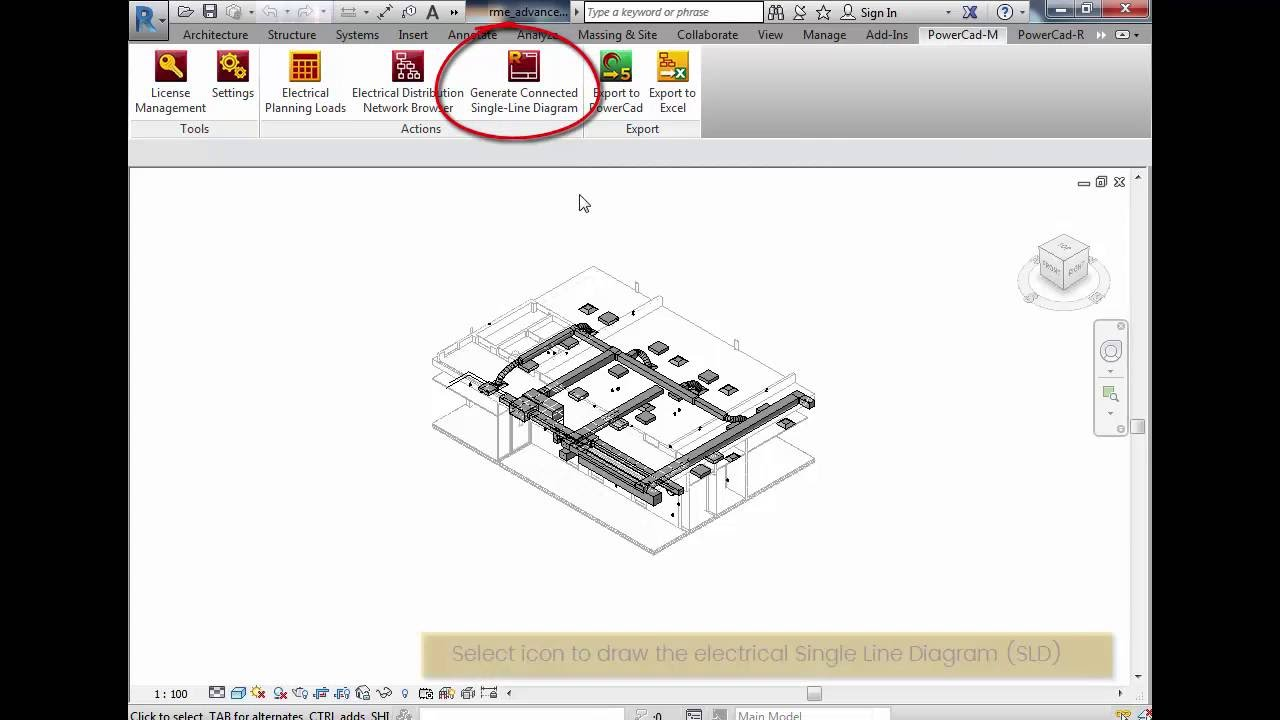 Creating A Electrical Single Line Diagram In Revit Youtube Network Ip Free Download Wiring Schematic