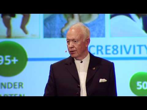 Tony Buzan 'Innovative learning and thinking techniques' at Mind & Its Potential 2011