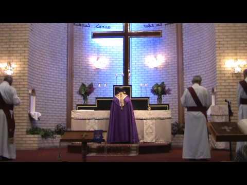 Assyrian Church Raza Qadisha In Rabban Hurmizd,Sydney,Australia.Qasha Alan Odisho.part1