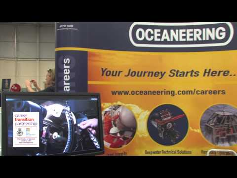 Oceaneering International on CTP Employment Fairs and recruiting ex-military personnel