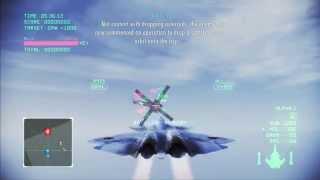 Ace Combat Infinity: SOLG 3  -4 Player, S Rank- ( PS3/1080p )