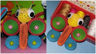 Download Video DIY simple butterfly from kokoru paper - how to make a butterfly MP3 3GP MP4