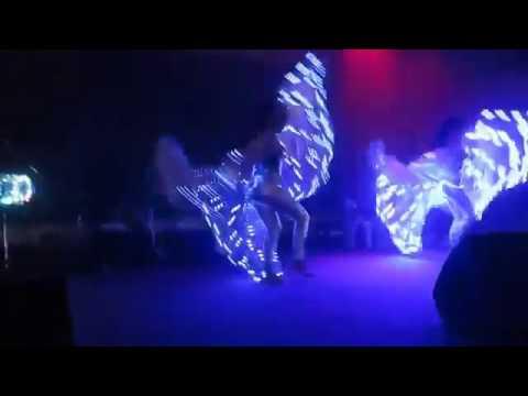 Led Dance Show -Foreigner Artists (Thailand)