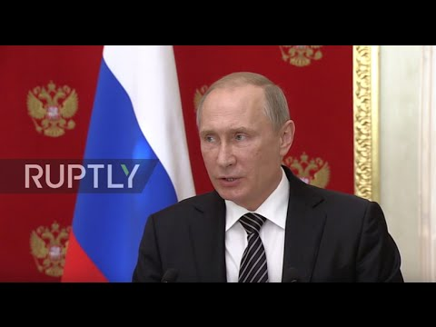 Russia: Putin comments on reports of foiled Ukrainian plot in Crimea