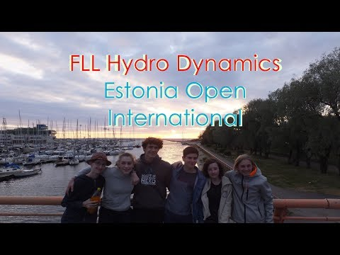 SAP Rockets in Tallinn || Estonia Open International || Fll 2018 Hydro Dynamics