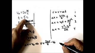Физика. Решение задач. Равноускоренное движение.Выполнялка 7