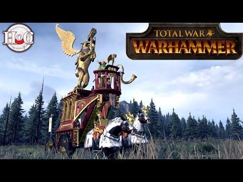 Total War Warhammer: Heinrich Kemmler - Chaos Tomb Blade Quest Battle (Legendary)