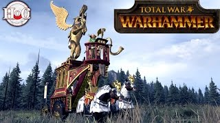 Total War Warhammer - The Staff of Command Quest Battle