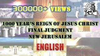 Video The 1000  years reign of  JESUS, Millenial Temple , Judgement day,  NEW JERUSALEM download MP3, 3GP, MP4, WEBM, AVI, FLV September 2017