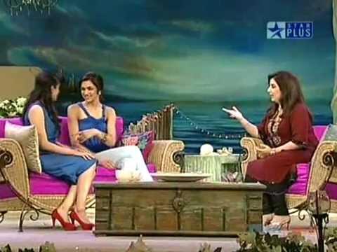 Asin & Deepika Padukone  on Tere Mere Beech Mein ..!