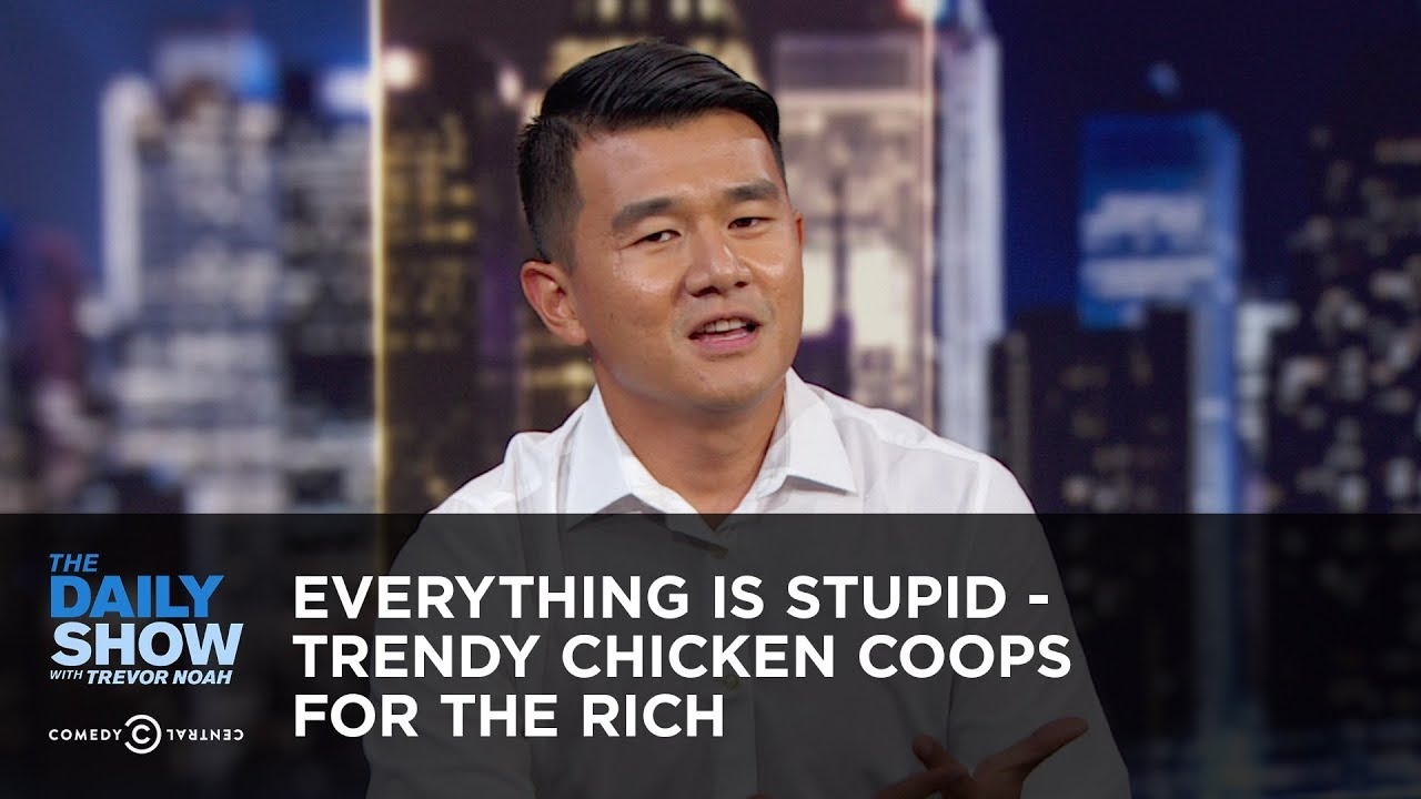 Everything Is Stupid - Trendy Chicken Coops for the Rich | The Daily Show