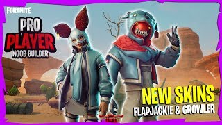 [NEW FLAPJACKIE & GROWLER SKINS] || Hunting Party Skin Grind || Fortnite Battle Royale