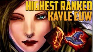 HIGHEST RANKED & BEST LOLSKILL EUW KAYLE MAIN BUILD GUIDE- 'Dawidsonek' Top 200 Challenger