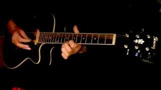Suhani raat dhal chuki Guitar Instrumental.Plz use headphones for better sound.