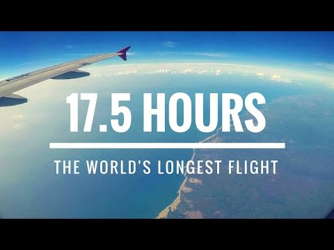 The Long Way Home: Längster Flug der Welt mit Qatar Airways | ENG Subtitles | GoPro HD