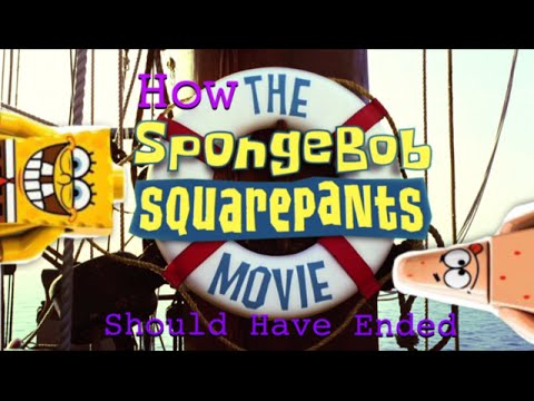 Lego SpongeBob: How The SpongeBob SquarePants Movie Should Have Ended